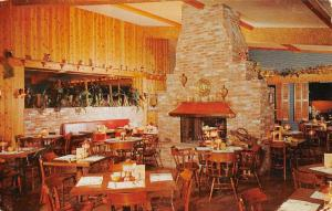 Escondido California The Fireside Interior Vintage Postcard K90447