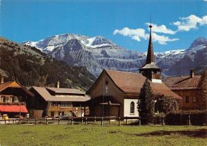Switzerland Lenk, Berner Oberland, Katholische Kirche, Wildstrubel Church