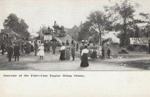 Case Tractor Engine doing stunts , 1901-07