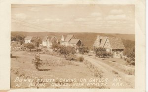 RP: WINSLOW , Arkansas , 1944 ; Burns Deluxe Cabins on Gaylor Mt