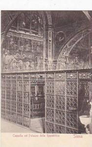 Italy Siena Cappella nel Palazzo Repubblica