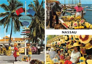 Bahamas Islands Nassau Market Place Fruits Marche