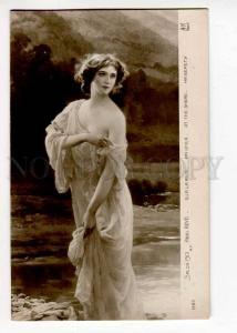 264390 Nude NYMPH Mermaid by Abel BOYE Vintage SALON 1913 PC
