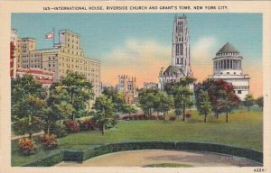 New York City International House Riverside Church And Grants Tomb