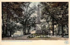 Battleground Monument and Minute Man Concord MA Unused