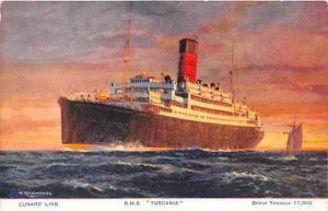 5689   R.M.S. Tuscania     Cunard Line