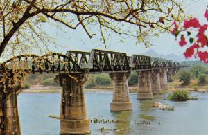 Thailand , 50-60s : Dead-Railway Bridge , River Kawai