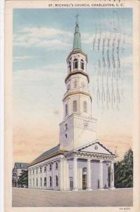 Charleston Saint Michaels Church South Carolina 1935