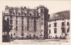 France Nantes Le Chateau Graand Logis et Palais Ducal