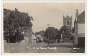 Essex; The Cross Roads, Ardleigh RP PPC To Miss Jones, Kingston On Thames, 1939