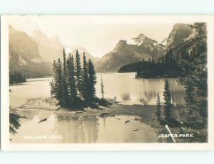 1940's rppc NICE VIEW Jasper Park Alberta AB W0948