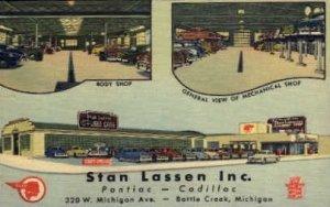 Stan Lassen Inc, Pontiac - Cadillac 320 w. Michigan Ave. Battle Creek, Michig...