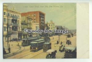 ft1403 - USA - New Orleans , Louisiana - Canal Street , west side - postcard