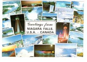 Greetings from Collage, Niagara Falls, Ontario