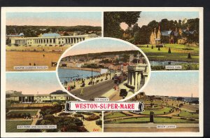 Somerset Postcard - Views of Weston-Super-Mare     RS2964