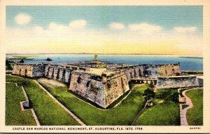 Florida St Augustine Castle San Marcos National Monument Curteich
