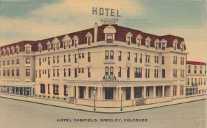 GREELEY , Colorado, 30-40s; Hotel Camfield