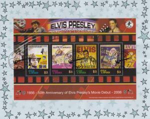 Elvis Presley 50th Anniversary GI Blues Charro Movie Debut Stamp FDC