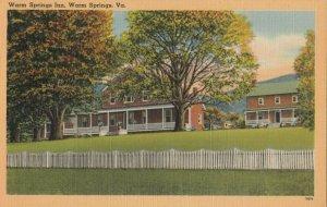 WARM SPRINGS , Virginia , 1930-40s ; Warm Springs Inn