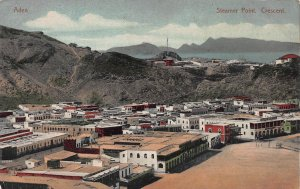 Steamer Point, Crescent, Aden, Early Postcard, Unused
