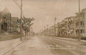 Medford Hillside MA Boston Avenue Real Photo Postcard