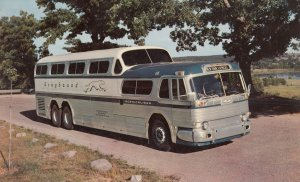 GREYHOUND Scenicruiser Bus New York Express , 50-60s