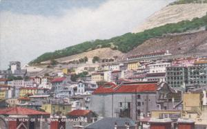 GIBRALTAR, 1900-1910's; North View Of The Town