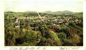 VT - Montpelier. Bird's Eye View