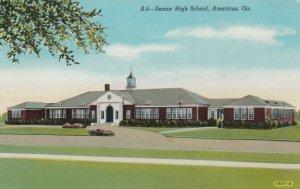 AMERICUS , Georgia , 1910-30s; Senior High School