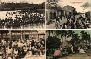 SENEGAL ETHINICS Africa 75 Vintage Postcards Mostly pre - 1940