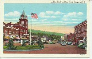 Newport, N.H., Looking South on Main Street