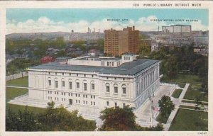 Michigan Detroit Public Library 1933