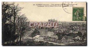 Old Postcard Vue Generale Albert Road Jack D & # 39Amiens