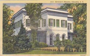 Exterior, Governor's Mansion, Columbia, South Carolina,  30-40s