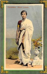 India Native Characters, Hindu women, traditional clothing dress