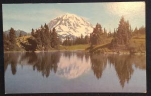 Postcard Unused Union Oil Co MT Rainier WA LB