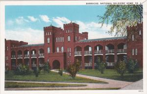 Barracks, National Soldiers' Home, Virginia, 1910-1920s