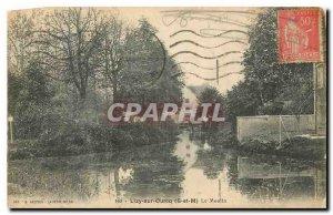 Old Postcard Lizy sur Ourcq S and M Le Moulin