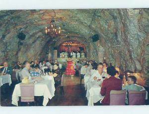 1950's UNDERGROUND RESTAURANT Nogales Sonora Mexico G8726
