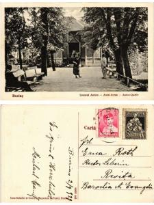 CPA BUZIAS Izvorul Anton Antal-forrás. ROMANIA (502830)