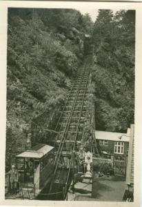 UK, Cliff Railway, Lynmouth, Photo Snap-Shot