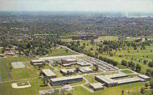 Rhode Island Providence Aerial View Of Rhode Island College