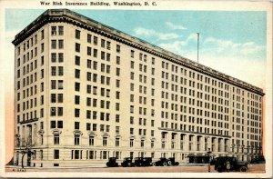 Vtg 1920s War Risk Insurance Building Washington DC Unused Postcard