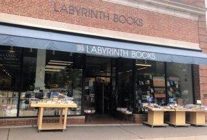 Labyrinth Books Princetown New Jersey USA Postcard