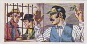 Burtons Vintage Trade Card 1972 The West No 11 Bank Robbery