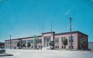 THETFORD-MINES , Quebec , Canada , 50-60s : L'Ecole d'Arts et Metiers