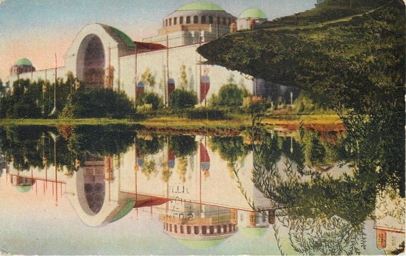 San Francisco~Pan Pac Intl Expo~Western Facade Palace Of Education~1915
