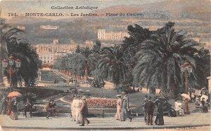 Les Jardins Monte Carlo Unused