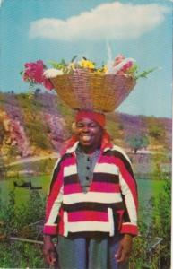 Jamaica Young Flower Vendor 1964