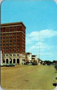 Alabama AL Broad Street Tuscaloosa Postcard Card View Standard PC Chrome